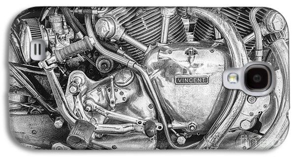 Vintage Vincent Engine Galaxy S4 Case