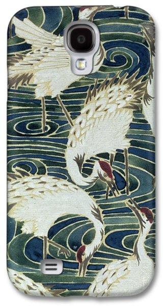 Vintage Wallpaper Design Galaxy S4 Case by English School