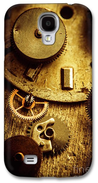 Vintage Watch Parts Galaxy S4 Case by Jorgo Photography - Wall Art Gallery