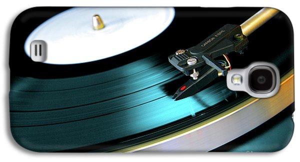 Vinyl Record Galaxy S4 Case by Carlos Caetano