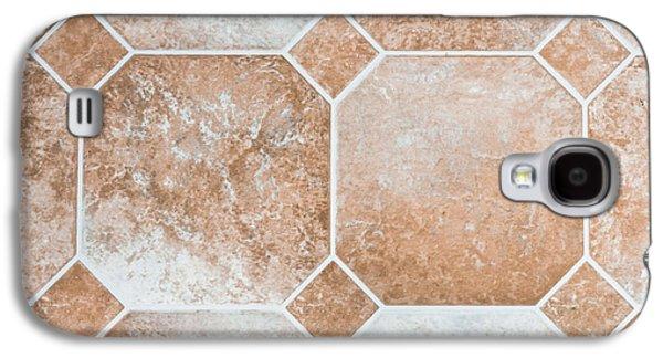 Vinyl Tiles Galaxy S4 Case by Tom Gowanlock