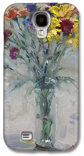 Viola's Flowers Galaxy S4 Case