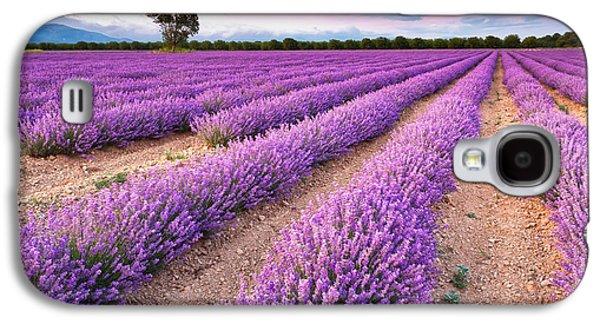 Violet Dreams Galaxy S4 Case