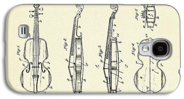 Violin Galaxy S4 Case - Violin-1921 by Pablo Romero