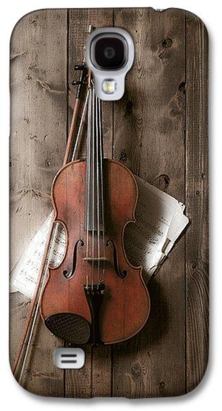 Violin Galaxy S4 Case - Violin by Garry Gay