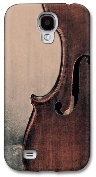 Violin Galaxy S4 Case - Violin Portrait  by Emily Kay