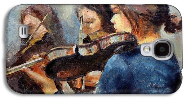 Violin Practice Galaxy S4 Case
