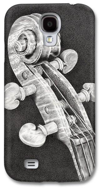 Violin Scroll Galaxy S4 Case
