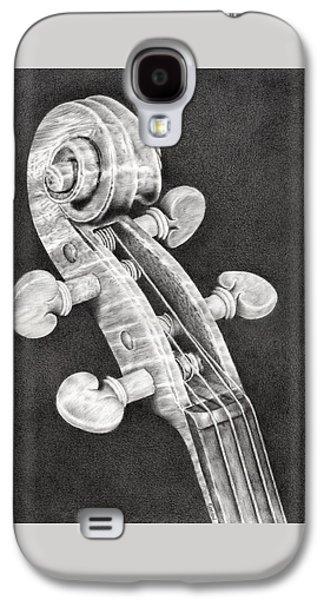 Violin Scroll Galaxy S4 Case by Remrov