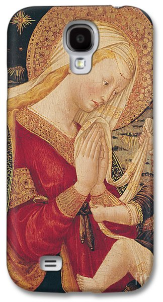 Virgin And Child  Galaxy S4 Case by Neri di Bicci