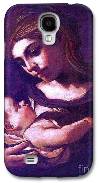 Virgin Mary And Baby Jesus, The Greatest Gift Galaxy S4 Case by Jane Small