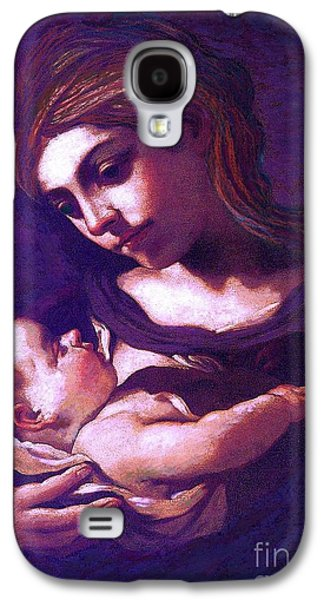 Heart Galaxy S4 Case - Virgin Mary And Baby Jesus, The Greatest Gift by Jane Small
