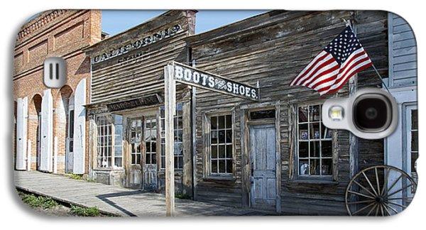 Virginia City Ghost Town - Montana Galaxy S4 Case by Daniel Hagerman