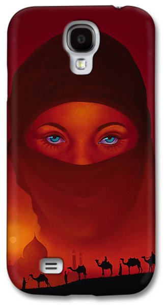 Vision Galaxy S4 Case by Tim Dangaran
