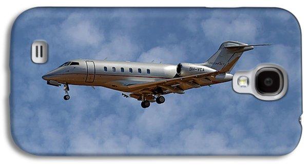 Jet Galaxy S4 Case - Vista Jet Bombardier Challenger 300 1 by Smart Aviation