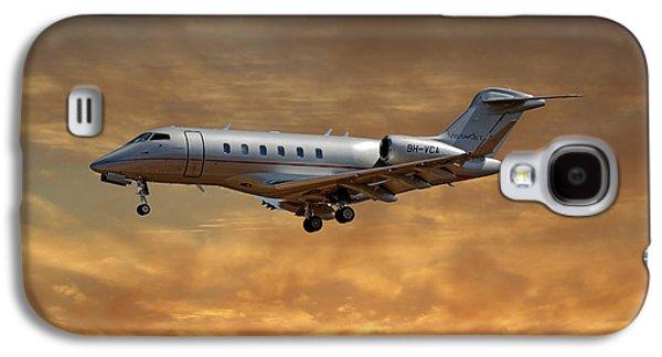 Jet Galaxy S4 Case - Vista Jet Bombardier Challenger 300 2 by Smart Aviation