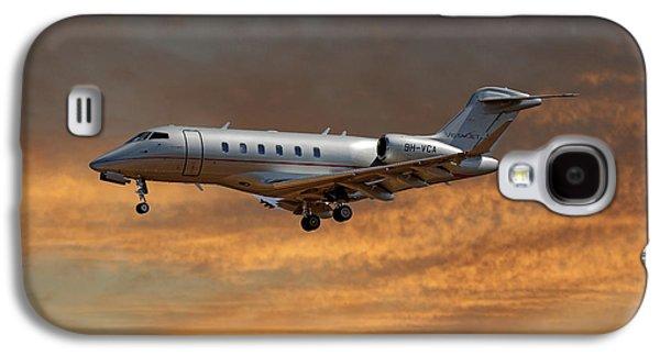Jet Galaxy S4 Case - Vista Jet Bombardier Challenger 300 3 by Smart Aviation