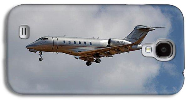Jet Galaxy S4 Case - Vista Jet Bombardier Challenger 300 5 by Smart Aviation