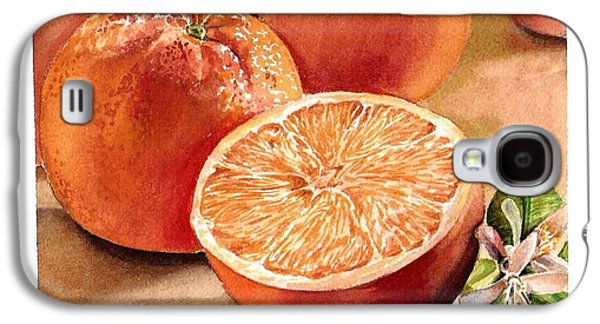 Vitamin C Galaxy S4 Case by Irina Sztukowski