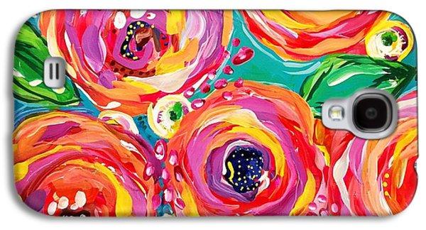 Bright Galaxy S4 Case - Vivid Flora by DAKRI Sinclair