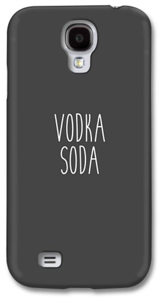 Vodka Soda Galaxy S4 Case by Cortney Herron