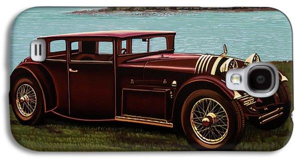 Voisin C20 Mylord Demi-berline 1931 Painting Galaxy S4 Case