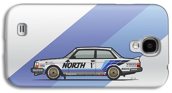 Volvo 240 242 Turbo Group A Homologation Race Car Galaxy S4 Case by Monkey Crisis On Mars