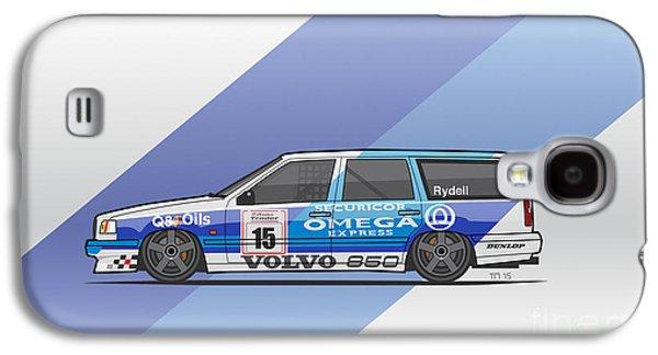 Volvo 850r Twr British Touring Car Championship  Galaxy S4 Case by Monkey Crisis On Mars