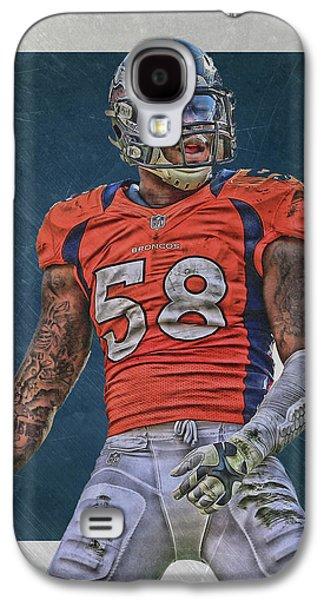 Von Miller Denver Broncos Art 1 Galaxy S4 Case
