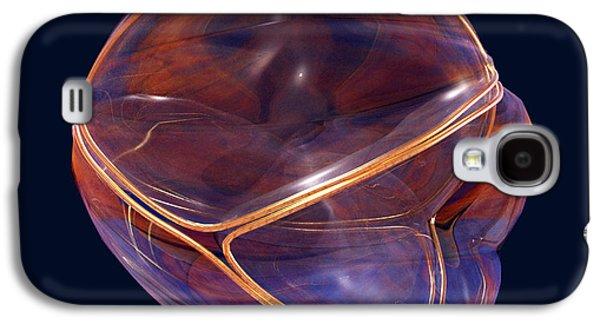 Voronoi Fractures Galaxy S4 Case by Harry Nicholas
