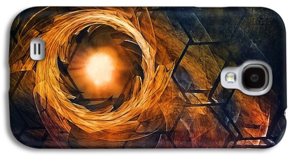 Vortex Of Fire Galaxy S4 Case by Scott Norris