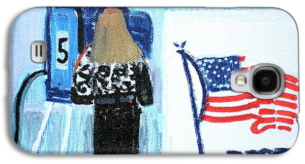 Voting Booth 2008 Galaxy S4 Case by Candace Lovely