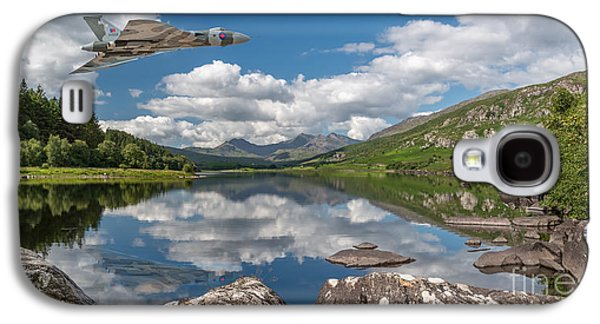 Vulcan Over Lake Galaxy S4 Case by Adrian Evans
