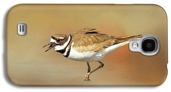 Killdeer Galaxy S4 Case - Wading Killdeer by Donna Kennedy