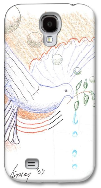 Wage Peace Galaxy S4 Case by Rod Ismay