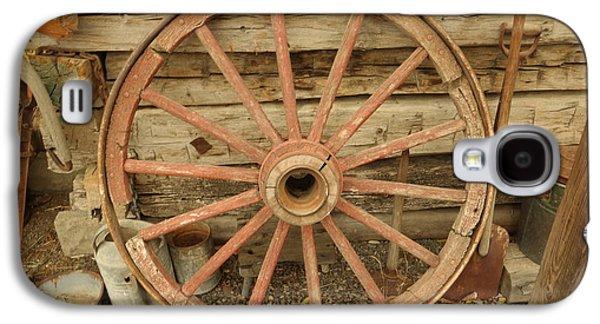 Wagon Wheel Galaxy S4 Case by Jeff Swan