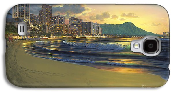 Waikiki Sunrise Galaxy S4 Case