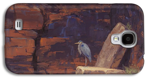Heron Galaxy S4 Case - Waiting by Cody DeLong