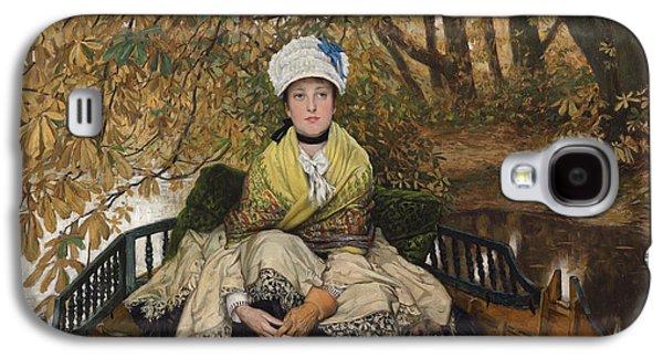 Waiting Galaxy S4 Case by James Jacques Joseph Tissot