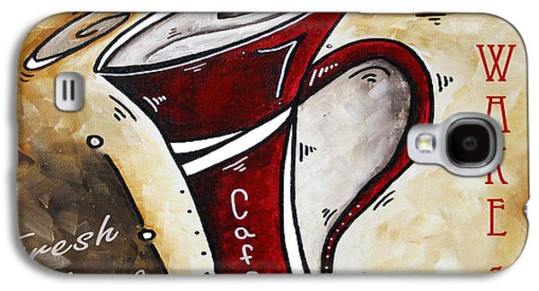 Wake Up Call Original Painting Madart Galaxy S4 Case by Megan Duncanson