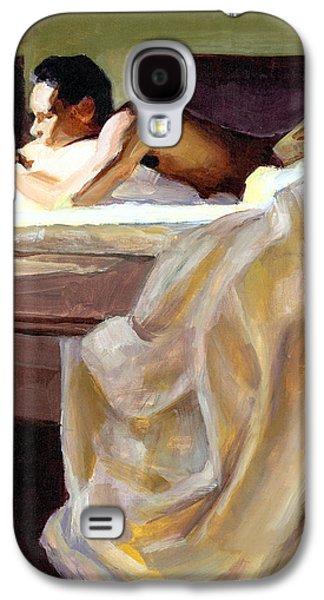 Waking Up Galaxy S4 Case by Douglas Simonson