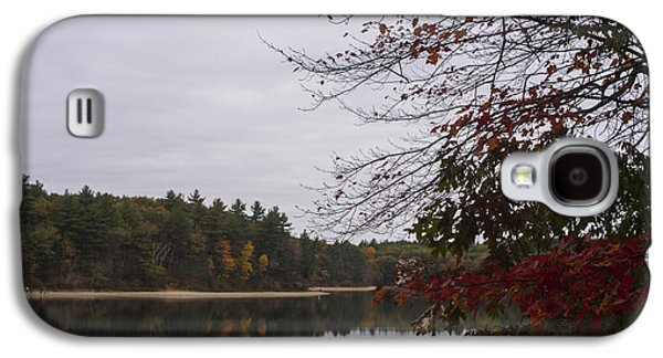 Walden Pond Fall Foliage Le 2aves Concord Ma Galaxy S4 Case