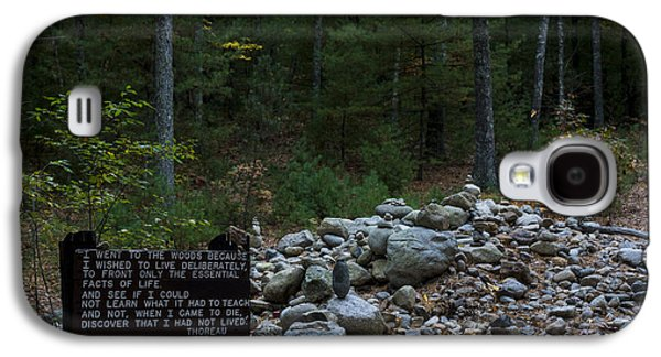 Walden Pond House Site Concord Ma Galaxy S4 Case