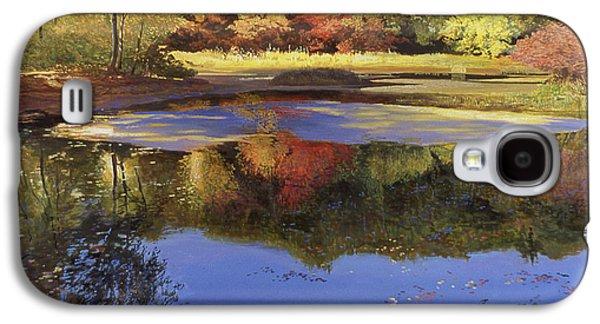 Walden Pond II Galaxy S4 Case by Art Chartow