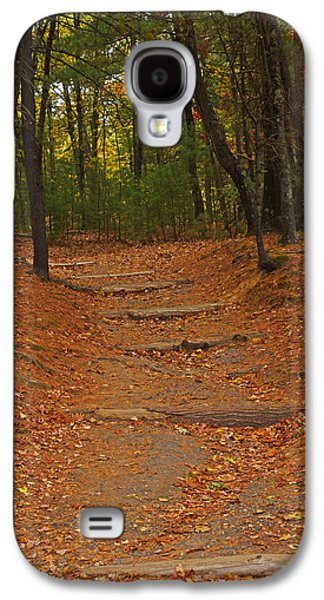 Walden Pond Path Into The Forest Galaxy S4 Case