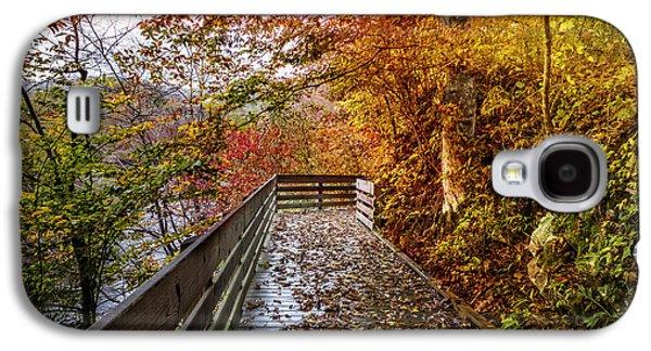 Walk Into Autumn Galaxy S4 Case