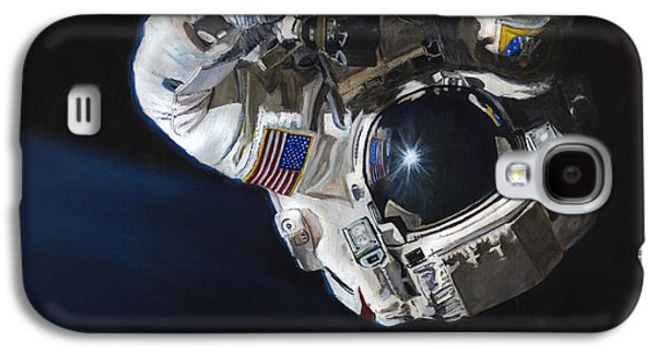 Walk Into Darkness  Galaxy S4 Case by Simon Kregar