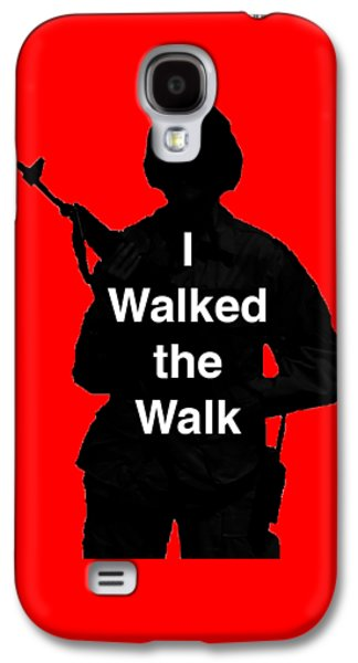Walk The Walk Galaxy S4 Case by Melany Sarafis