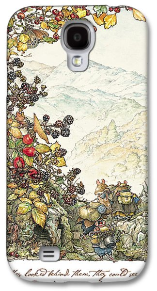 Walk To The High Hills Galaxy S4 Case by Brambly Hedge