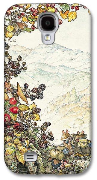 Mice Galaxy S4 Case - Walk To The High Hills by Brambly Hedge